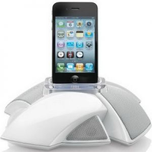 JBL On Stage IV iPhone white
